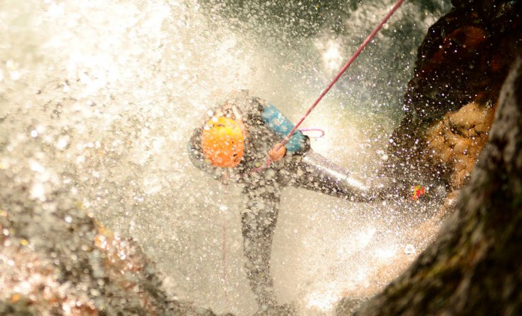 Canyoning in Bali. Gorges, cliff jumps and rappelling from the height of 15 meters - Tour